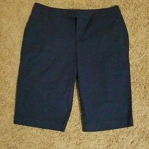 EUC Style & co blue shorts. Size 14